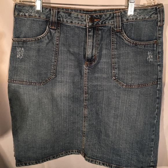 Apt. 9 Dresses & Skirts - Stretch Denim Skirt